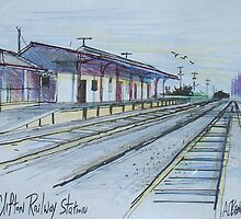 Railway Station, Clifton, Queensland Australia by MrCreator
