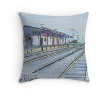 Railway Station, Clifton, Queensland Australia Throw Pillow