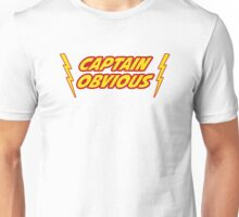Captain Obvious Superhero Unisex T-Shirt