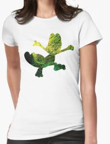 Treecko used Grass Knot Womens Fitted T-Shirt