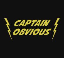 Captain Obvious Superhero by TheShirtYurt