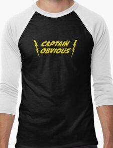 Captain Obvious Superhero Men's Baseball ¾ T-Shirt