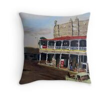 Royal Hotel, Roma, Queensland Australia Throw Pillow