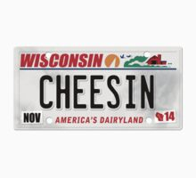 License Plate - CHEESIN by TswizzleEG