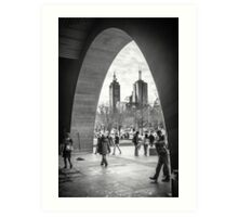 The Arch - National Gallery of Victoria, Melbourne Art Print