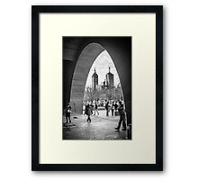 The Arch - National Gallery of Victoria, Melbourne Framed Print