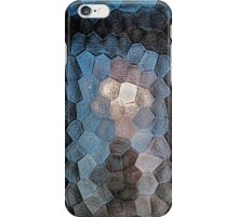 Faceted abstraction iPhone Case/Skin