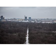 Winter View at Tiergarten Berlin Photographic Print