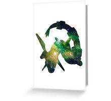 Rayquaza used Dragon Pulse Greeting Card