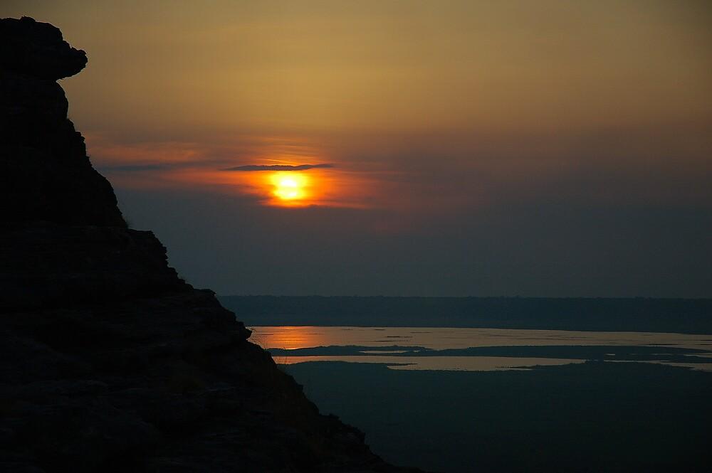 Kakadu sunset by matthew maguire