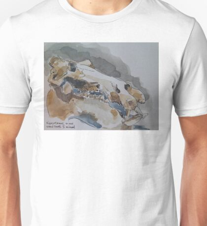 Hippopotamus Skull Unisex T-Shirt