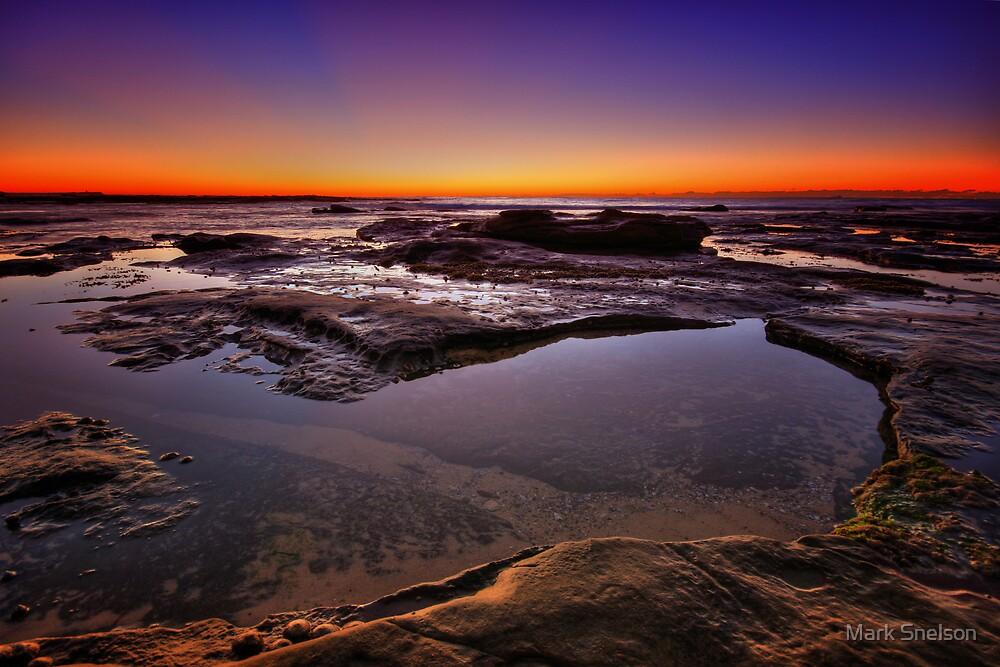 Cowrie Hole at Dawn 3 by Mark Snelson