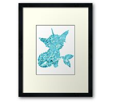 Vaporeon used Surf Framed Print