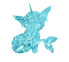 Vaporeon used Surf Photographic Print