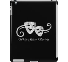 White Glove Society Logo (Grungy Version) iPad Case/Skin
