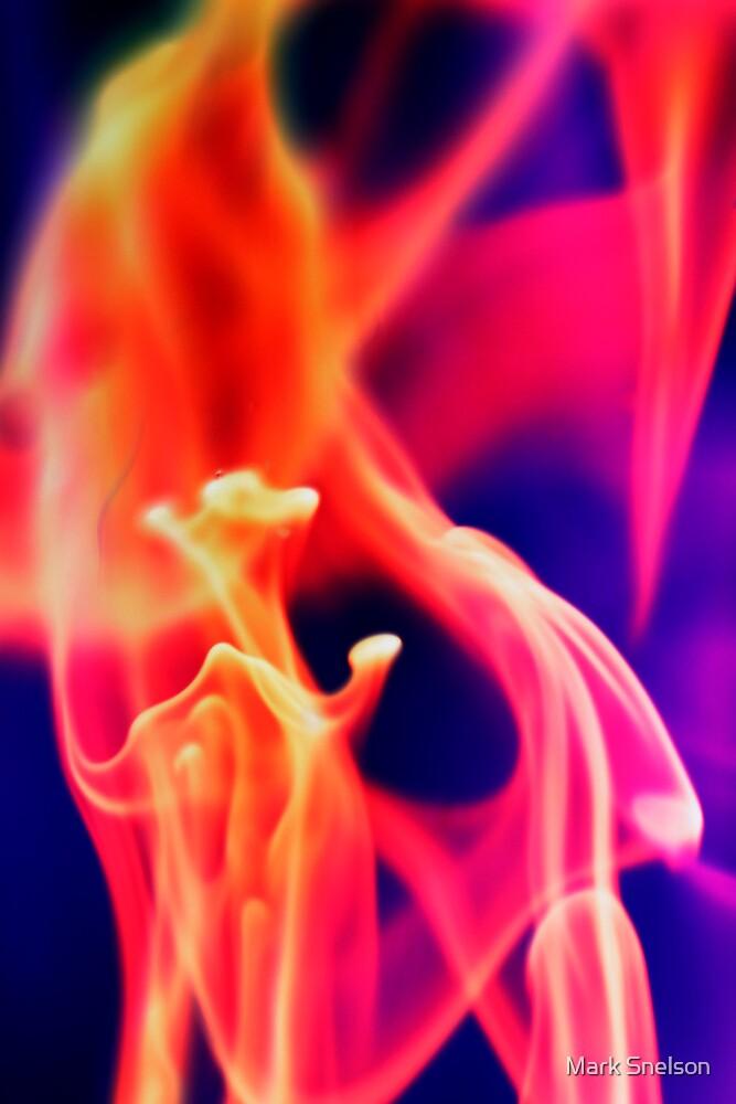 Fiery Smoke by Mark Snelson