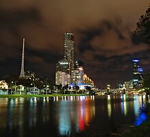 Yarra at night II by YC Lo
