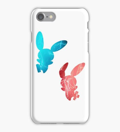 Plusle and Minun used Spark iPhone Case/Skin