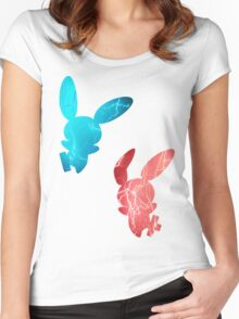 Plusle and Minun used Spark Women's Fitted Scoop T-Shirt