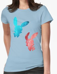 Plusle and Minun used Spark Womens Fitted T-Shirt