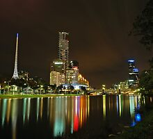 Yarra at night by YC Lo