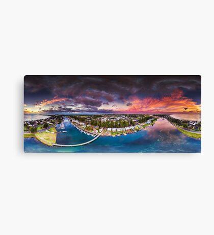 Moyne River Sunrise Canvas Print