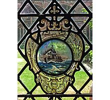 Battleship Window Photographic Print