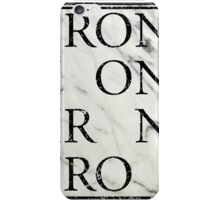 IRON w/ missing letters iPhone Case/Skin