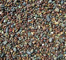 stones on a beach by howley76