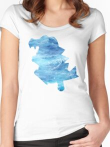 Totodile used Surf Women's Fitted Scoop T-Shirt