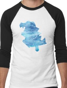 Totodile used Surf Men's Baseball ¾ T-Shirt