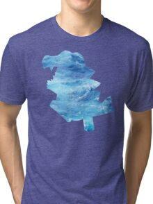 Totodile used Surf Tri-blend T-Shirt