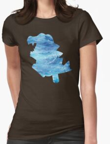 Totodile used Surf Womens Fitted T-Shirt
