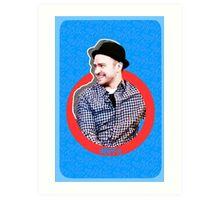 Hashtag BFFs (Justin) Art Print