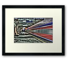 The Way Out Framed Print