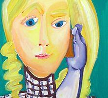 Mobile phone contact by Annelies  van Biesbergen