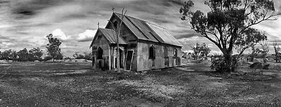 church of hope and broken dreams by Tony Middleton