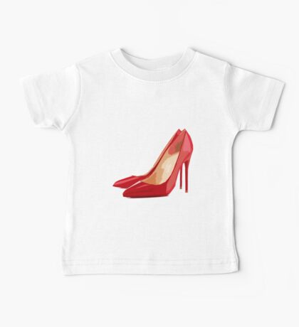 Red Pumps Baby Tee