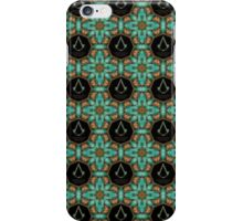 Assassins creed Lexicon mash up pattern iPhone Case/Skin