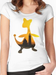 Ampharos used Flash Women's Fitted Scoop T-Shirt