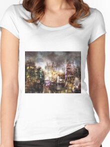 Sin City II Women's Fitted Scoop T-Shirt