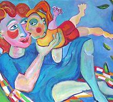 Happy Balancing by Annelies  van Biesbergen