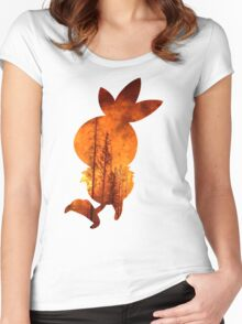 Torchic used Overheat Women's Fitted Scoop T-Shirt