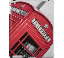 London Red Telephone Booth iPad Case/Skin