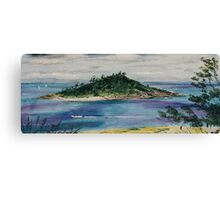 View from Hayman, Great Barrier Reef.  Canvas Print