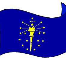 Indiana State Flag by kwg2200