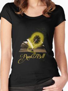 Rumbelle Women's Fitted Scoop T-Shirt