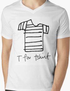T for tshirt Mens V-Neck T-Shirt