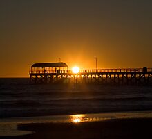 Henley Beach, South Australia Adelaide Sunset by Peter Ede