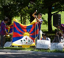 Embassy Protest by camerajuice